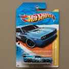 Hot Wheels 2011 New Models Dodge Challenger Drift Car (blue)