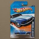 Hot Wheels 2010 Nightburnerz Custom '67 Mustang (blue)