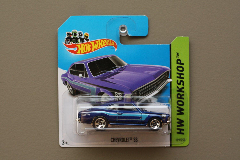 Hot Wheels 2014 HW Workshop Chevrolet SS (Opala) (blue)
