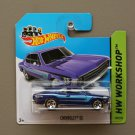 Hot Wheels 2014 HW Workshop Chevrolet SS (Opala) (blue)