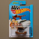 Hot Wheels 2014 HW City The Flintstones Flintmobile