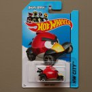 Hot Wheels 2014 HW City Angry Birds (Red Bird)