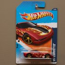 Hot Wheels 2011 Heat Fleet '97 Corvette (red)
