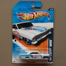 Hot Wheels 2011 HW Racing '66 Chevy Nova (white)