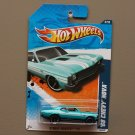 Hot Wheels 2011 Street Beasts '68 Chevy Nova (turquoise)