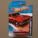 Hot Wheels 2011 Street Beasts '71 Maverick Grabber (red)