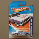 Hot Wheels 2011 HW Racing '67 Chevelle SS 396 (white)