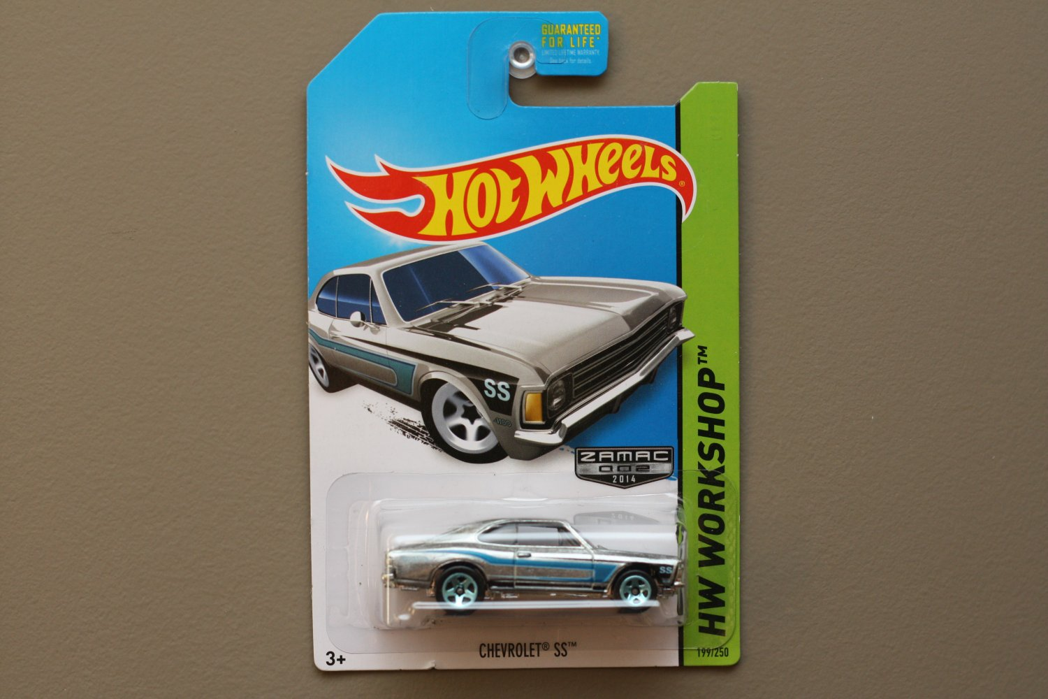 Hot Wheels 2014 HW Workshop Chevrolet SS (Opala) (ZAMAC silver - Walmart Excl.)