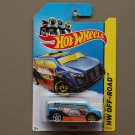 Hot Wheels 2014 HW Off-Road Speedbox (blue) (Treasure Hunts)