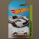 Hot Wheels 2014 HW Workshop Lotus Evora GT4 (white)