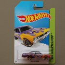 Hot Wheels 2014 HW Workshop '71 Dodge Demon (purple)