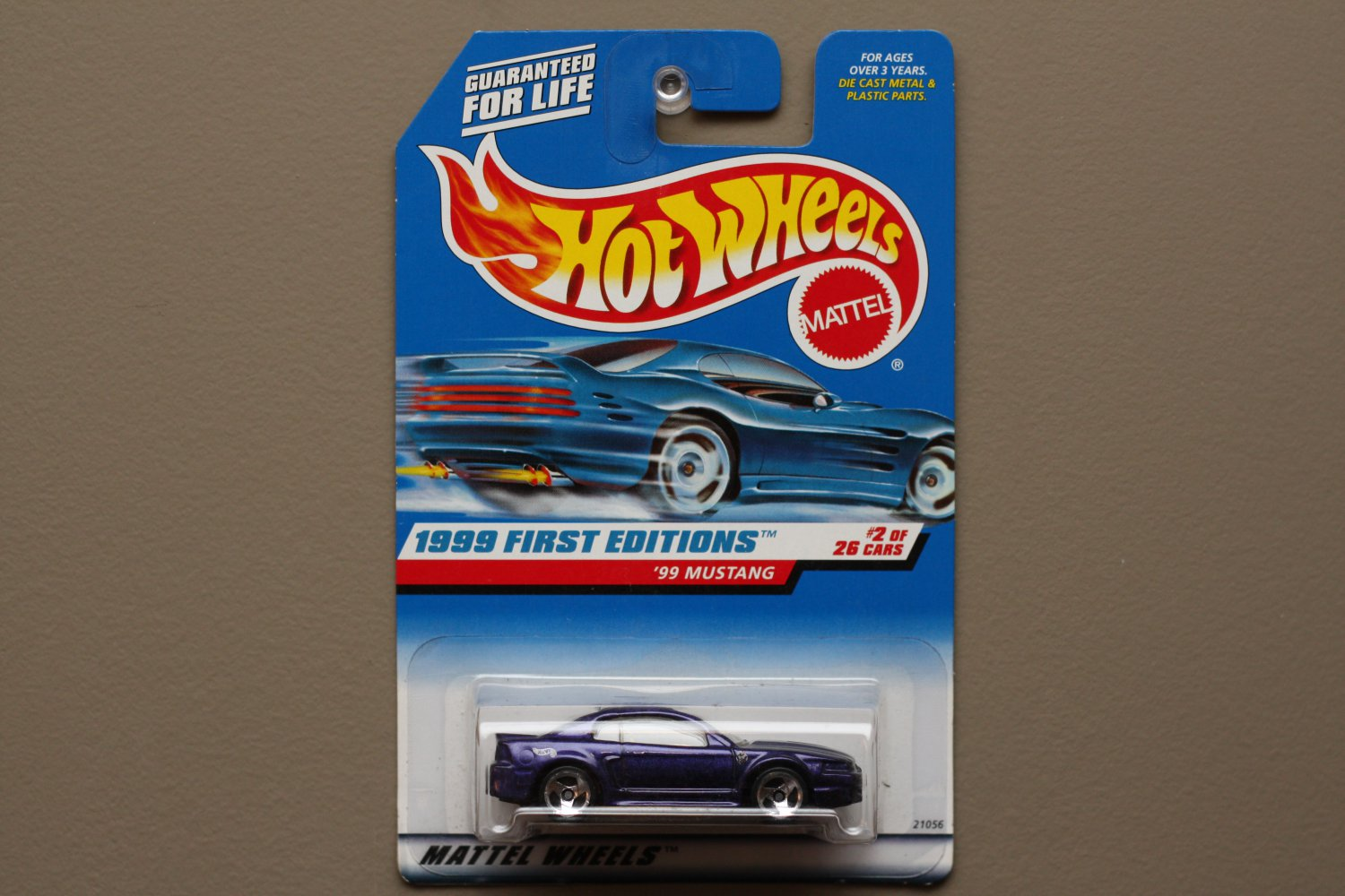 Greenlight Auto Sales >> Hot Wheels 1999 First Editions '99 Mustang (purple)