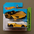 Hot Wheels 2014 HW Workshop Lamborghini Aventador J (yellow)