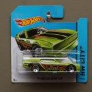 Hot Wheels 2014 HW City '71 Mustang Funny Car (green)