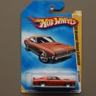Hot Wheels 2009 HW Premiere '69 Mercury Cougar Eliminator (orange)