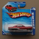 Hot Wheels 2010 Muscle Mania '66 Ford Fairlane GT (red)