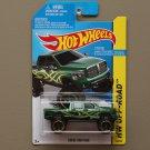 Hot Wheels 2014 HW Off-Road Dodge Ram 1500 (green)
