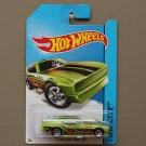 Hot Wheels 2014 HW City '71 Mustang Funny Car (green)