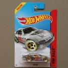 Hot Wheels 2014 HW Race Stockar (clear) (Treasure Hunt)