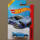 Hot Wheels 2014 HW Race Mastretta MXR (blue)