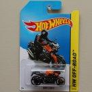 Hot Wheels 2014 HW Off-Road BMW K 1300 R (orange)