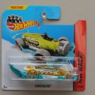Hot Wheels 2014 HW Race Carbonator (yellow/turquoise) (bottle opener)