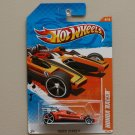 Hot Wheels 2011 Track Stars Honda Racer (orange)