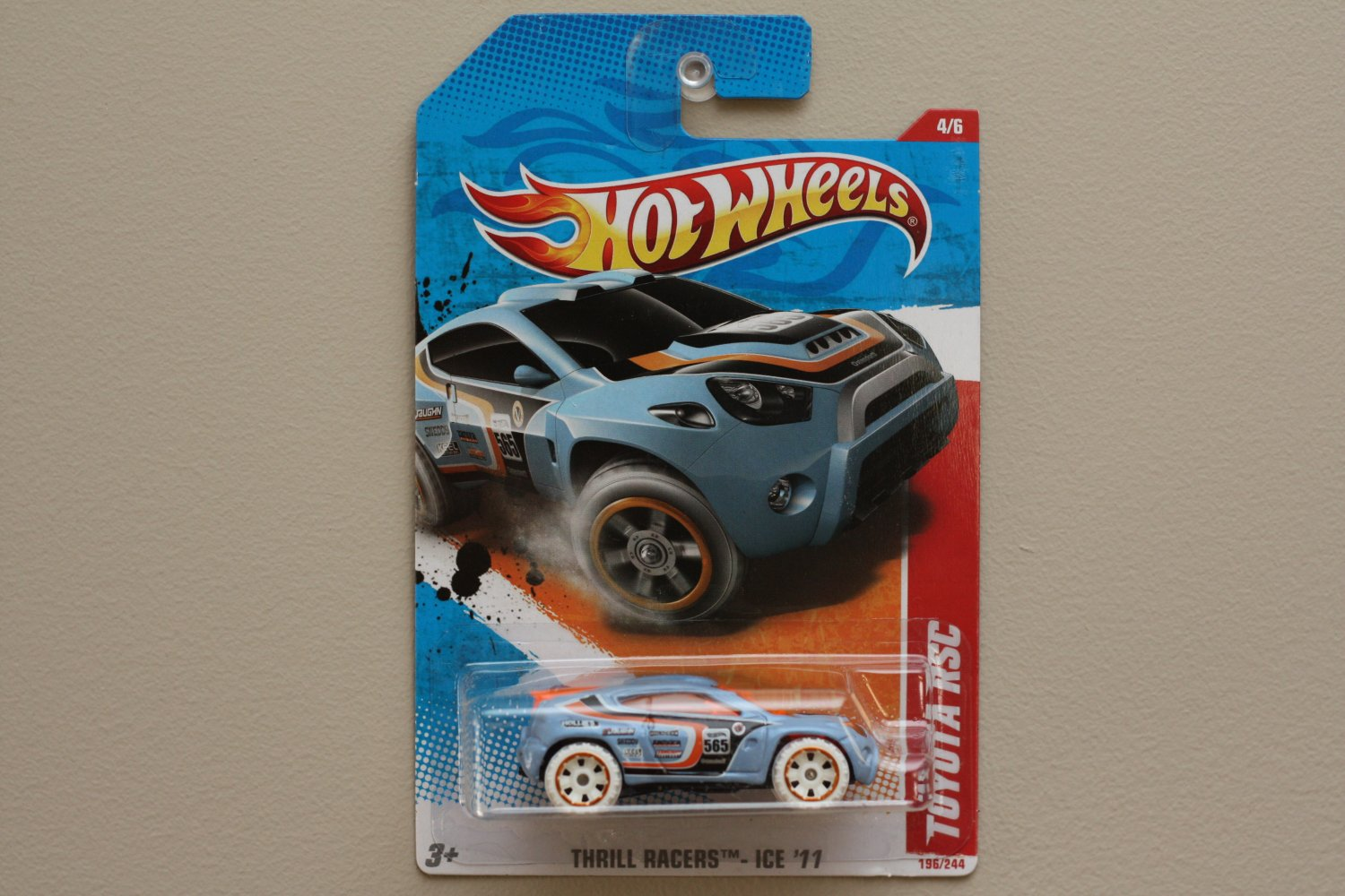 Hot Wheels 2011 Thrill Racers Ice Toyota RSC (turquoise)