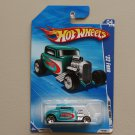 Hot Wheels 2010 HW Hot Rods '32 Ford (turquoise)