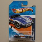 Hot Wheels 2011 HW Racing '69 Corvette (blue)