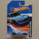 Hot Wheels 2010 HW City Works Dodge Charger SRT8 (blue)