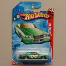 Hot Wheels 2010 Race World Movie Stunts '84 Pontiac (green)