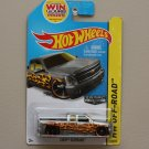 Hot Wheels 2014 HW Off-Road Chevy Silverado (ZAMAC silver - Walmart Excl.)