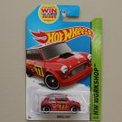 Hot Wheels 2014 HW Workshop Morris Mini (red)