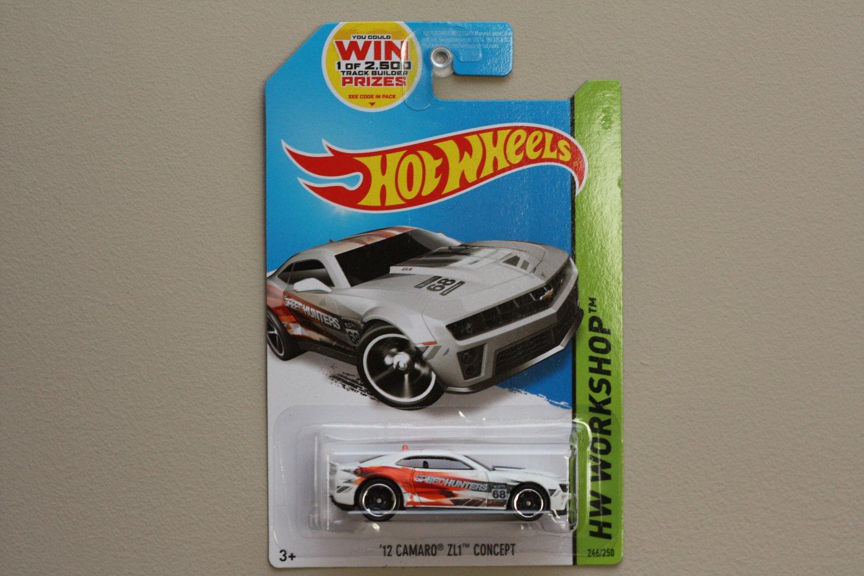 Hot Wheels 2014 HW Workshop '12 Camaro ZL1 Concept (white)