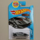 Hot Wheels 2014 HW City Lamborghini Sesto Elemento (grey) (Need For Speed)
