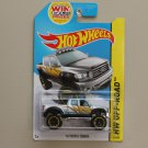 Hot Wheels 2014 HW Off-Road '10 Toyota Tundra (silver)