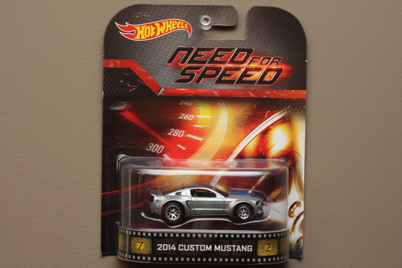 Hot Wheels 2014 Retro Entertainment 2014 Custom Mustang Need For Speed
