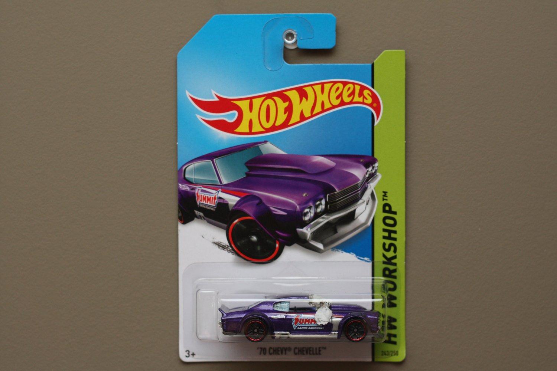 Fisher Auto Sales >> [PACKAGE ERROR] Hot Wheels 2014 HW Workshop '70 Chevy Chevelle (purple)