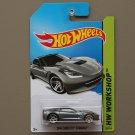 [TAMPO ERROR] Hot Wheels 2014 HW Workshop 2014 Corvette Stingray (grey)