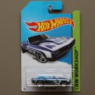 Hot Wheels 2014 HW Workshop '69 Camaro (blue)