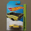 Hot Wheels 2014 HW Workshop '71 Dodge Challenger (yellow)