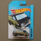 [WHEEL ERROR] Hot Wheels 2014 HW City Super Van (navy blue)