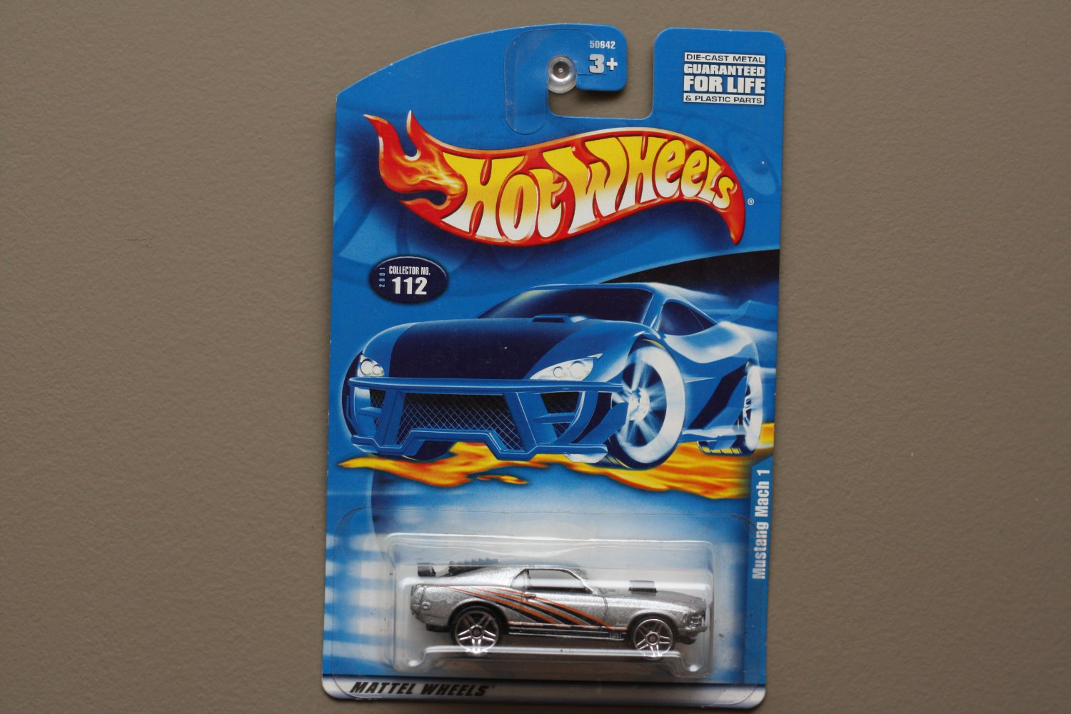 Hot Wheels 2001 Collector Series '70 Mustang Mach 1 (silver)