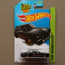 Hot Wheels 2014 HW Workshop Nissan Skyline H/T 2000GT-X (black) (SEE CONDITION)