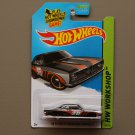 Hot Wheels 2014 HW Workshop '68 Plymouth Barracuda Formula S (black)