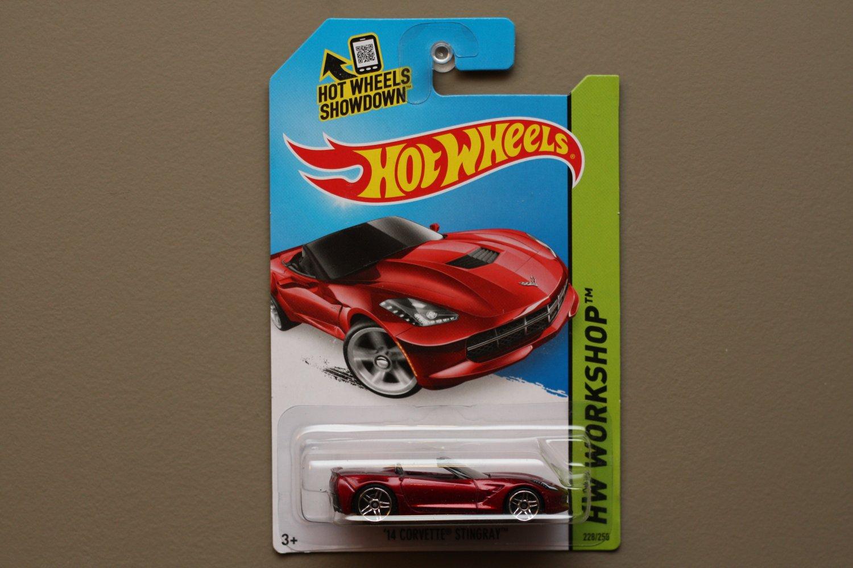 Hot Wheels 2014 HW Workshop '14 Corvette Stingray Convertible (red)