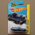 Hot Wheels 2014 HW Off-Road Custom '71 El Camino (blue) (Treasure Hunt)