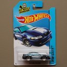 Hot Wheels 2014 HW City 1999 Ford Mustang (blue)