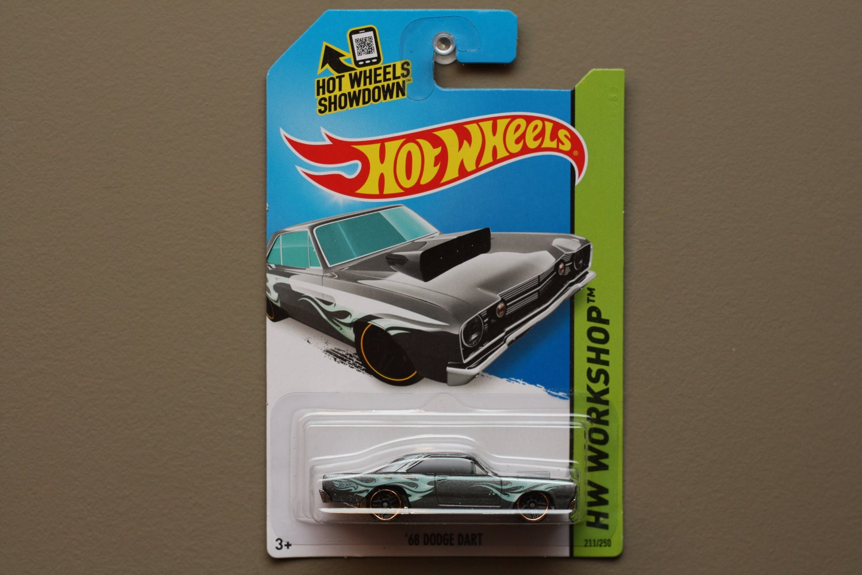 Hot Wheels 2014 HW Workshop '68 Dodge Dart (graphite)